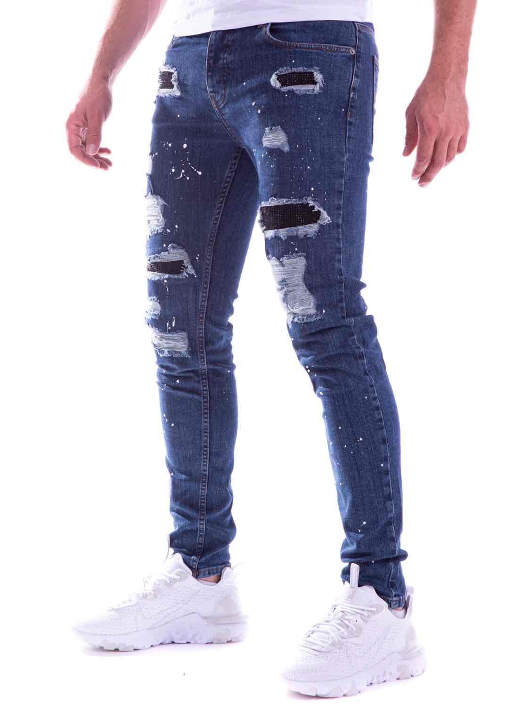 Jeans destroy brut