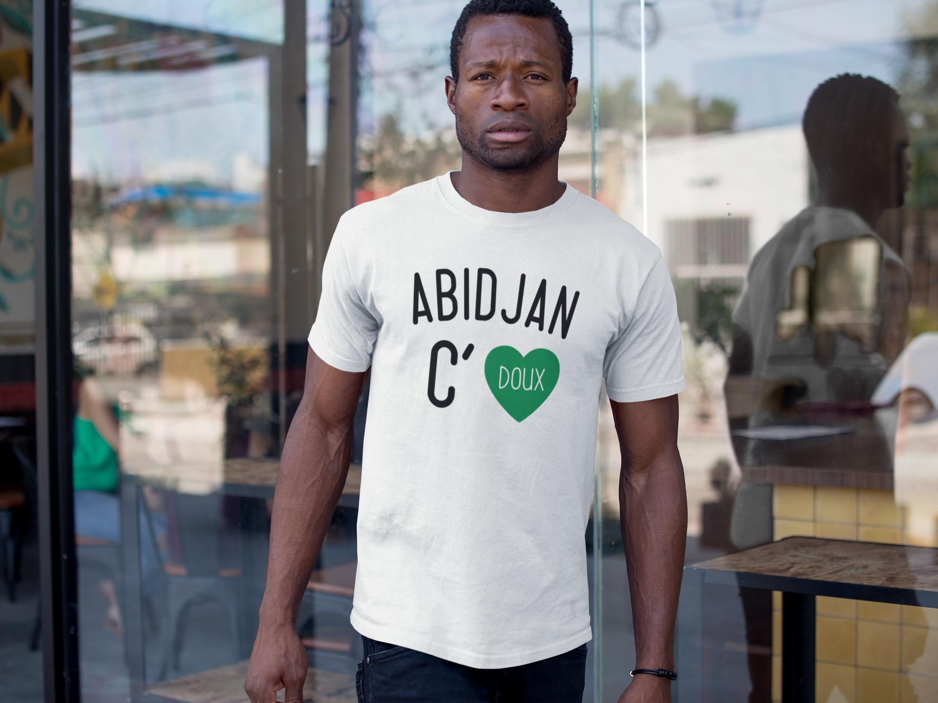 T-SHIRT Abidjan c doux