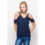 bigliuli-blouse-a-epaules-denudees-avec-illets-navy-1