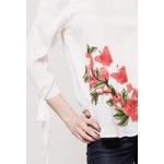 relax-queens-blouse-avec-patch-fleur-white-2