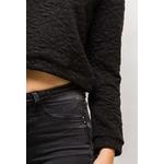 m-l-style-sweat-court-texturee-avec-fleurs-black-2