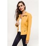 jaune-rouge-veste-en-similicuir-avec-zip-et-poches2-yellow-1