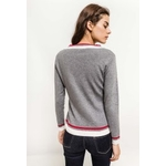 in-vogue-pull-avec-bandes-colorees-gray-4
