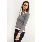 in-vogue-pull-avec-bandes-colorees-gray-2