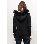 seliris-gilet-structure-en-angora-zipe-a-capuche-fourrure-detachable-avec-2-poches-black-4