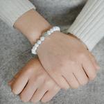 Miss-Zoe-Patte-Coeur-Pierre-Naturelle-Perles-Chakra-Bracelets-Main-Bracelet-Bracelet-bijoux-Animal-Pet-Bijoux