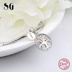SG-925-argent-charms-r-chauffement-famille-l-arbre-de-vie-perles-fit-authentique-pandora-bracelets