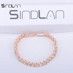 Sindlan-Bracelet-2017-De-Mode-De-Mariage-Bijoux-Simple-Charme-Vintage-Cristal-Strass-Or-Et-Argent