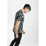 frilivin-chemise-manches-courtes-fleurie-black-3