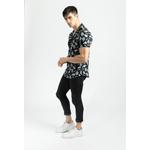 frilivin-chemise-manches-courtes-fleurie-black-4