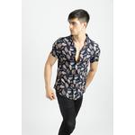 frilivin-chemise-manches-courtes-fleurie-navy-2