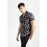 frilivin-chemise-manches-courtes-fleurie-navy-3