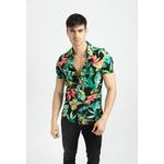 frilivin-chemise-manches-courtes-fleurie1-black-1