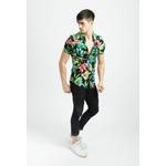 frilivin-chemise-manches-courtes-fleurie1-black-4