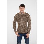 frilivin-t-shirt-manches-longues-motifs-graphique-beige-1