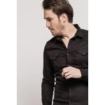 lysande-chemise-decontractee-en-coton-black-2