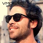 VMOERS-R-tro-Rivet-lunettes-de-Soleil-Rondes-Hommes-Polaris-es-UV400-Lentille-Nuances-Lunette-M