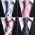 GUSLESON-Classique-100-Soie-Hommes-Cravates-Nouvelle-Conception-Cravates-8-cm-Plaid-Ray-Cravates-pour-Hommes