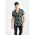 frilivin-chemise-manches-courtes-fleurie-black-1