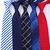 20-style-Formelle-cravates-affaires-robes-de-mariage-Classique-Hommes-de-cravate-bande-grille-8-cm