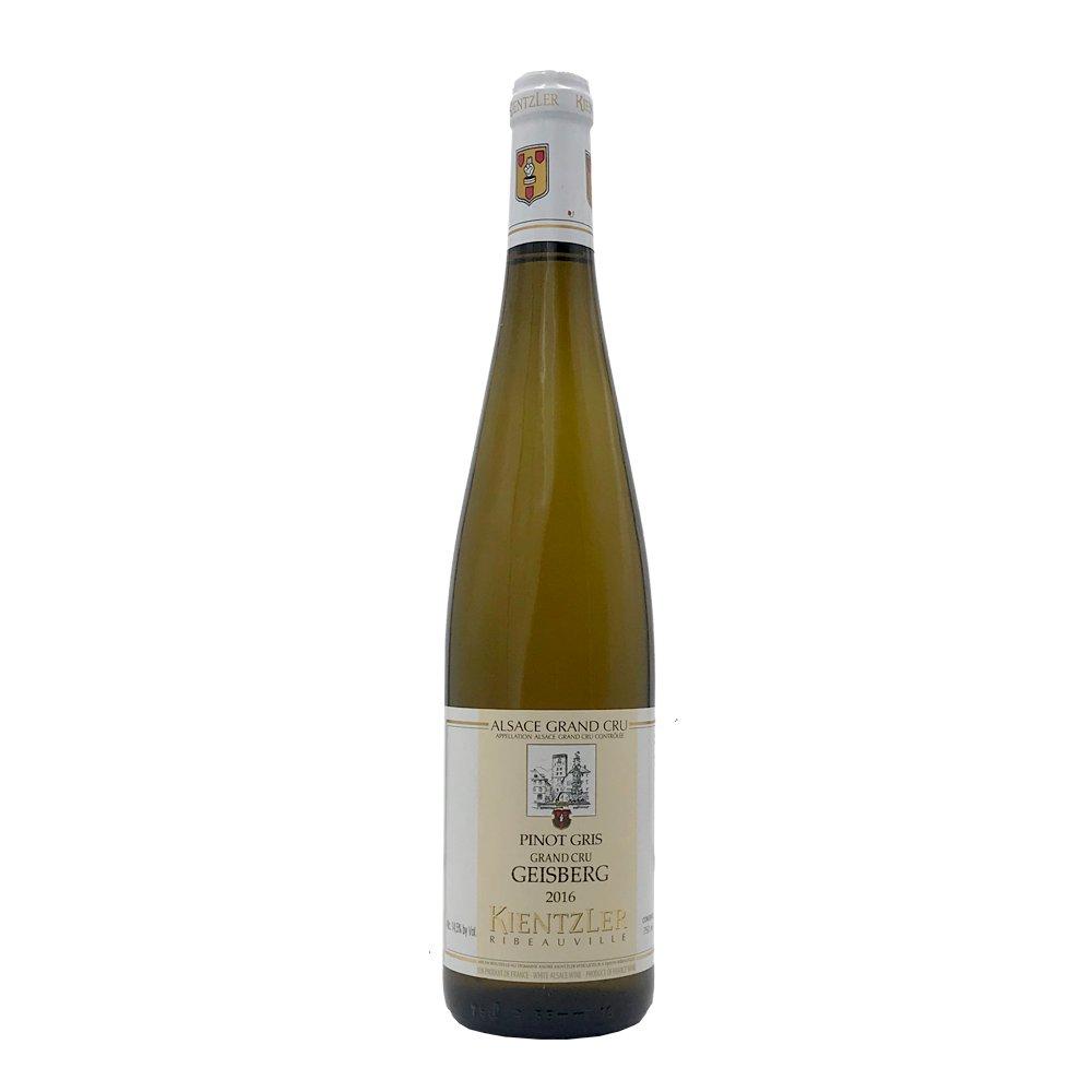 Pinot Gris Grand Cru Geisberg 2016 Domaine Kientzler Blanc