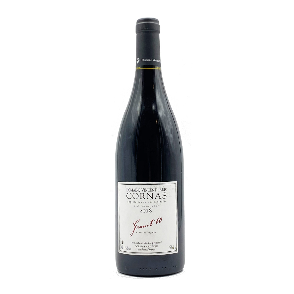 Cornas Granit 60 2018 Rouge Domaine Vincent Paris