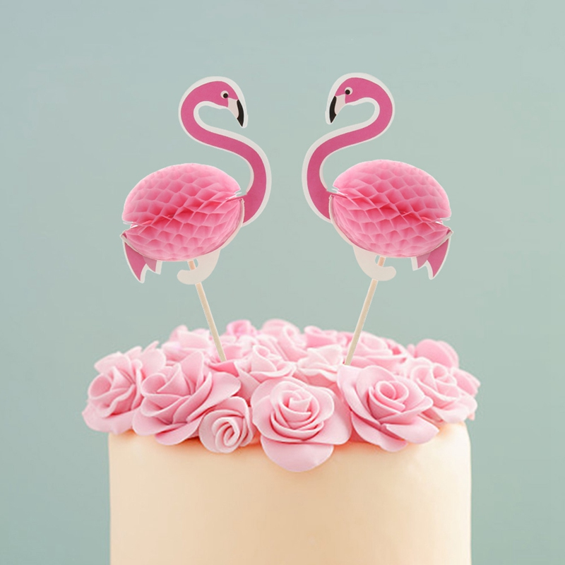 2 Pics flamingo