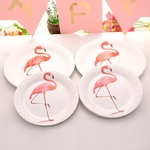 10-Pcs-Licorne-Flamingo-F-te-Diy-D-corations-Baby-Shower-Papier-Tasses-Plaques-Vaisselle-Jetable