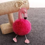 Mini-Mignon-Porte-cl-s-Pendentif-Flamingo-Maison-D-coration-Accessoires-de-F-te-D-anniversaire