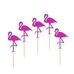 5-pcs-Hawaii-G-teau-Tooper-Flamingo-S-lections-De-G-teau-pour-Luau-Beach-Party