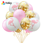 D-coration-de-mariage-1-Set-12-pouces-Rose-Flamingo-Ananas-Confettis-Mari-e-tre-Ballon
