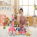Mignon-Swan-flamingo-En-Peluche-Jouets-avec-la-couronne-animaux-En-Peluche-Jouets-enfants-de-Jouets