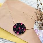 45-pcs-Flamingo-Papier-Autocollants-D-anniversaire-Cadeau-De-Bonbons-Nouveaux-Joints-De-No-l-Autocollant