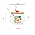 400-ml-Mignon-Rose-Flamingo-Verre-Caf-Tasse-avec-Couvercle-et-Cuill-re-Caf-Th-Au
