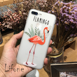 Kerzzil-3D-Relief-Case-Flamingo-Pour-iPhone-7-6-6-s-PLus-7-plus-Couverture-de