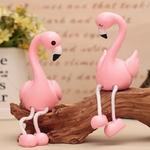 2-Pcs-ensemble-Belle-Flamingo-Ornement-De-R-sine-mobilier-De-D-coration-Figurines-Miniatures-Couples