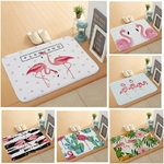Anti-Slip-Paillasson-pour-Porte-D-entr-e-Rose-Flamingo-Tapis-Rectangulaire-Lumi-re-Mince-Flanelle