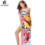 LEBESI-2018-Nouvelle-Arriv-e-Femmes-Bikini-Plage-Cover-Up-Plus-La-Taille-de-Maillots-De