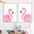 Rose-l-gant-Flamingo-Mur-Art-Toile-Peinture-Nordique-Affiches-Et-Gravures-Animaux-Mur-Photos-Pour