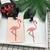 Bande-dessin-e-Mignon-flamingo-Bagages-Tag-Voyage-Accessoires-Gel-De-Silice-Valise-ID-Adresse-Titulaire