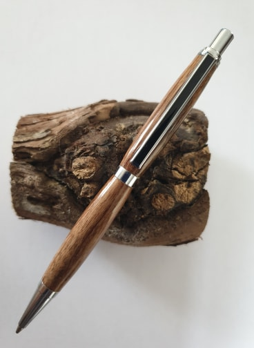 Stylo porte mines en bois de cep de vigne - Modèle Elégence