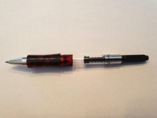 Conversion roller pour stylo kitless plume du même modèle.