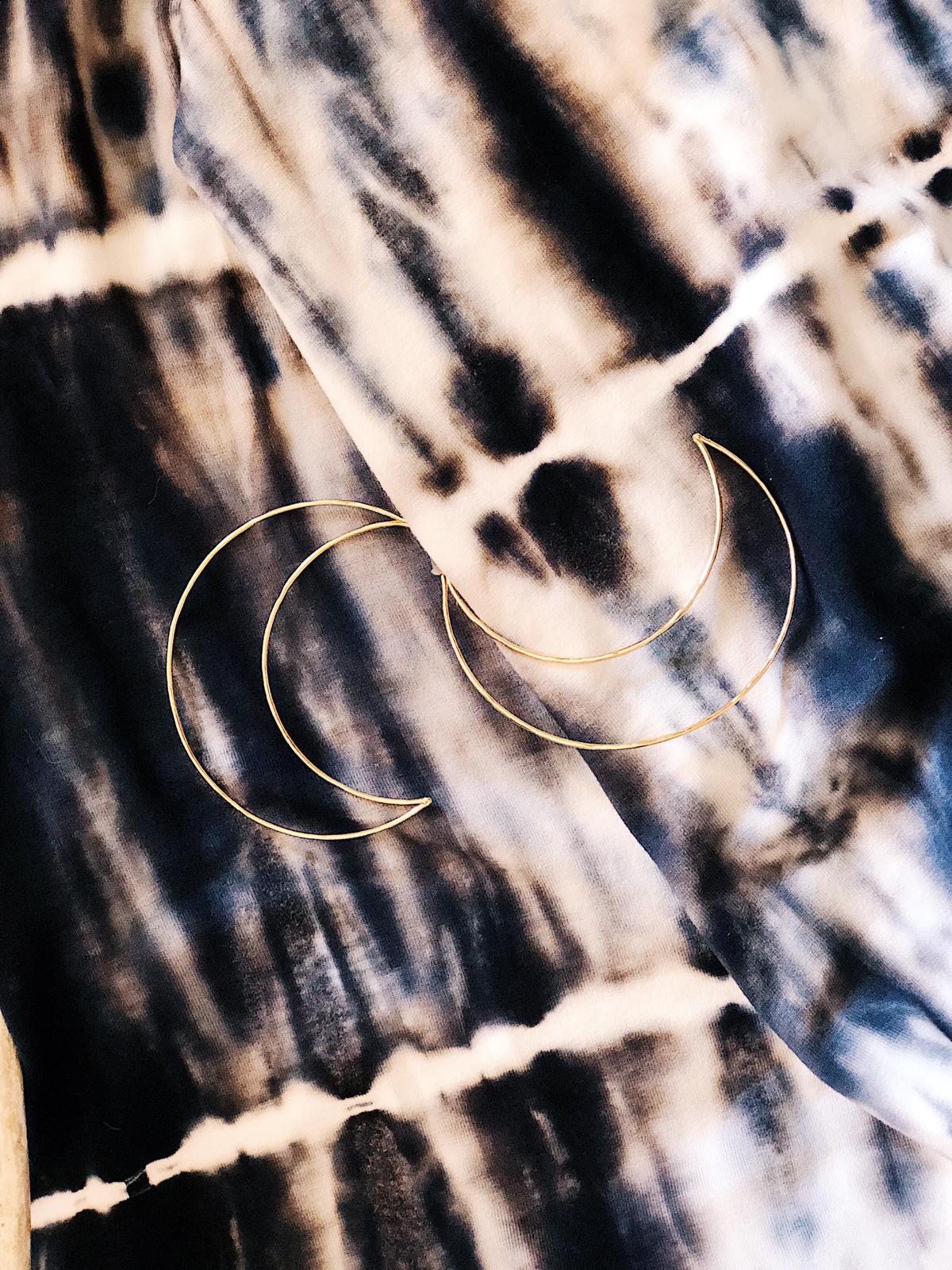 Boucles d\'oreilles Luna