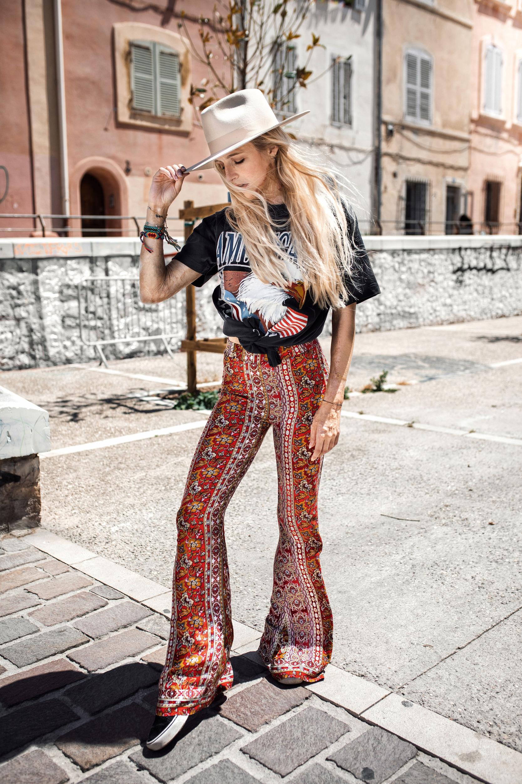 Pantalon Naari Rouge