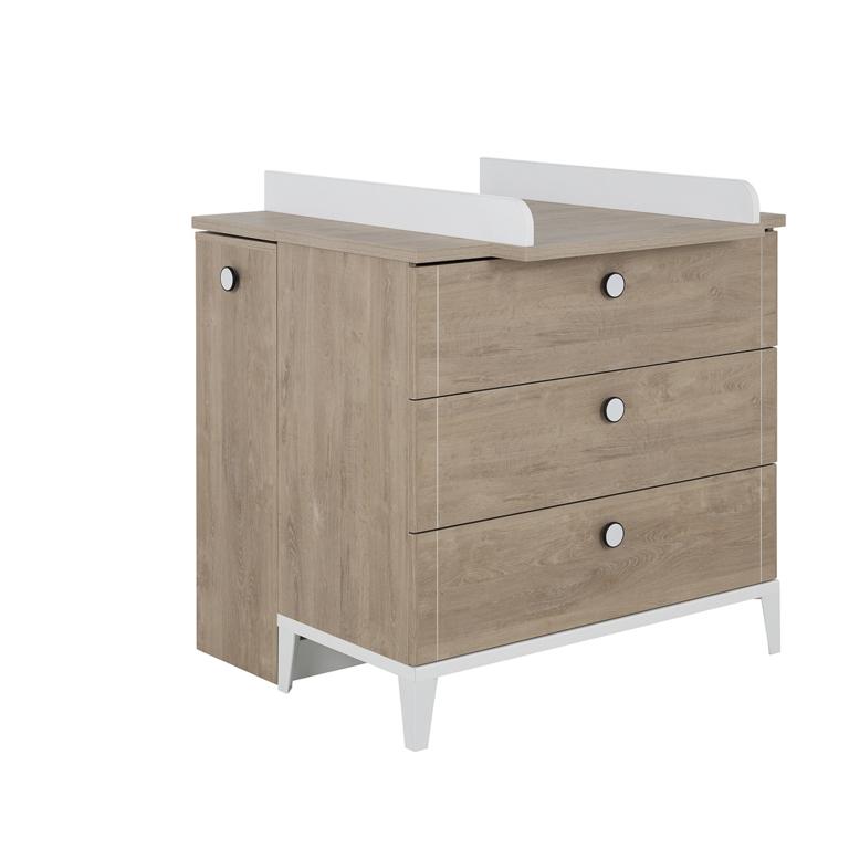 plan langer pour commode langer galipette marcel bois blanc b b plan langer petits. Black Bedroom Furniture Sets. Home Design Ideas