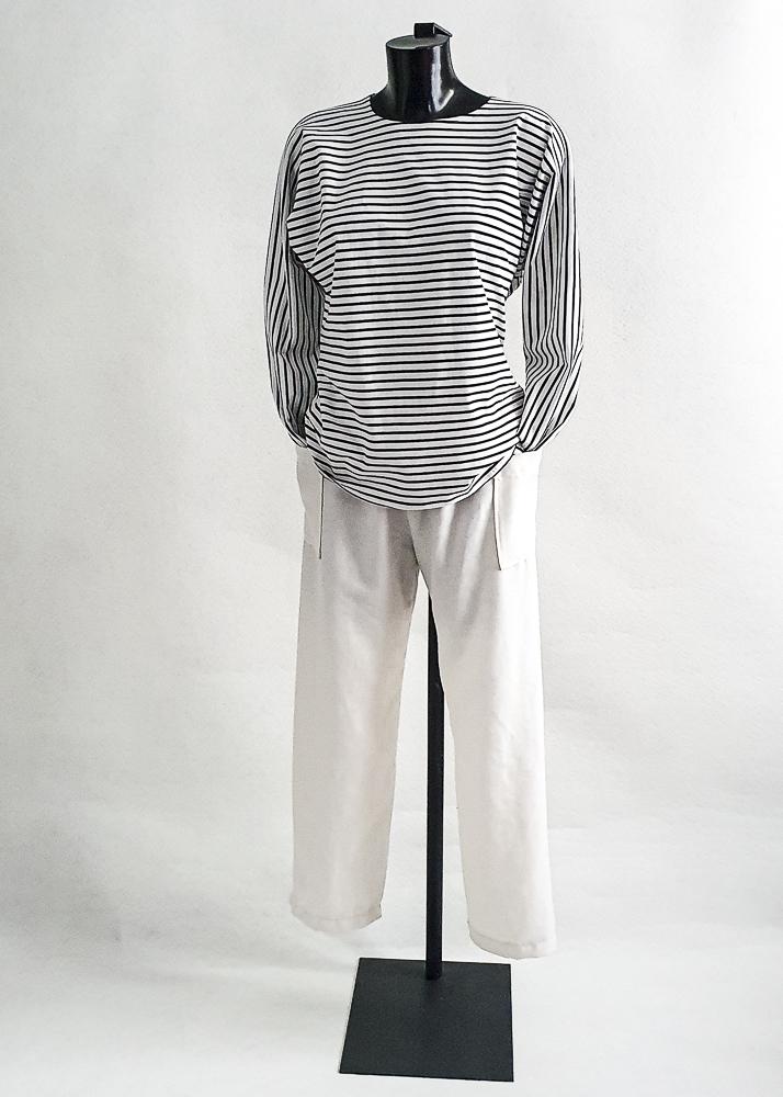 Pantalon lin écru