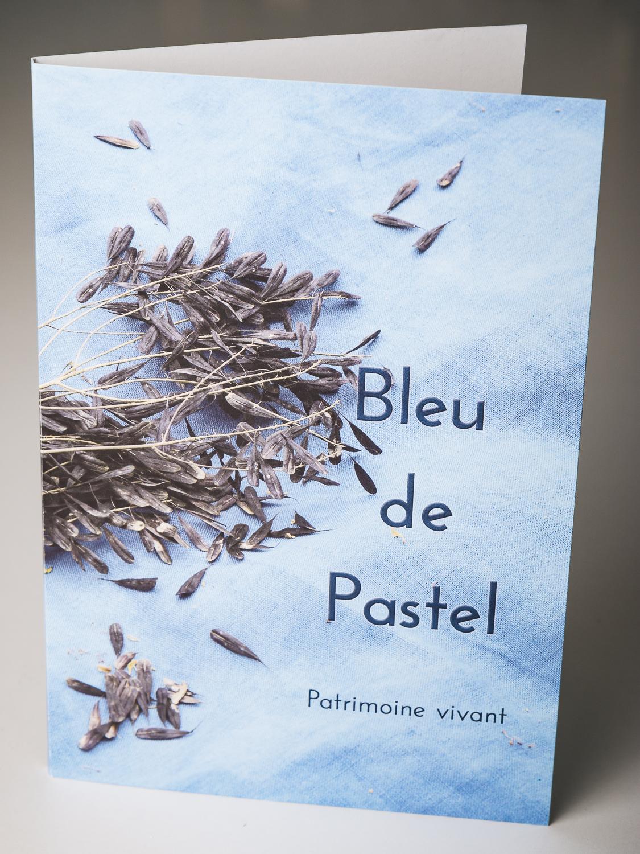 Pochette Bleu de Pastel