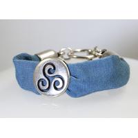 Bracelet Triskel argent