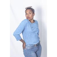 AHPY-Shirt Femme BIO - Sérigraphié manches 3/4
