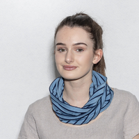 "Snood coton ""Ti-snood"" en maille"